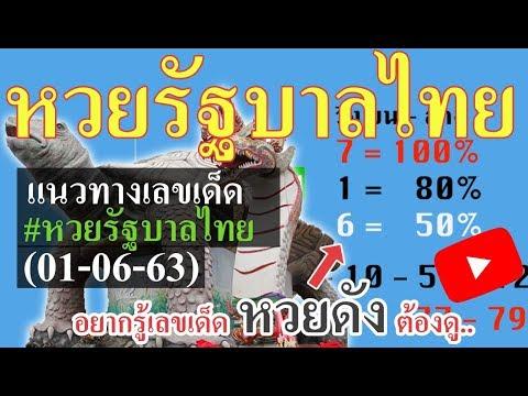 เลขเด็ดงวดนี้ 01 มิถุนายน 63 แนวทางปลดหนี้กับหวยรัฐบาลไทย