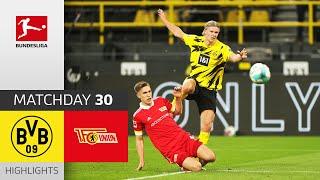 Borussia Dortmund Union Berlin 0 2 Highlights Matchday 30 Bundesliga 2020 21