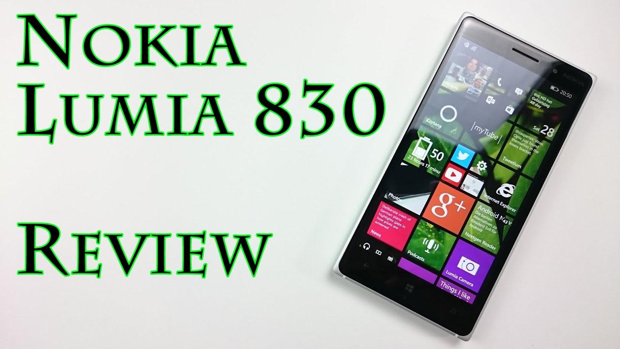 Nokia lumia 830 reviews - Nokia Lumia 830 Reviews 36