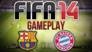 FIFA 14 EXCLUSIVE GAMEPLAY - FC Barcelona v FC Bayern Munich - 2nd Half