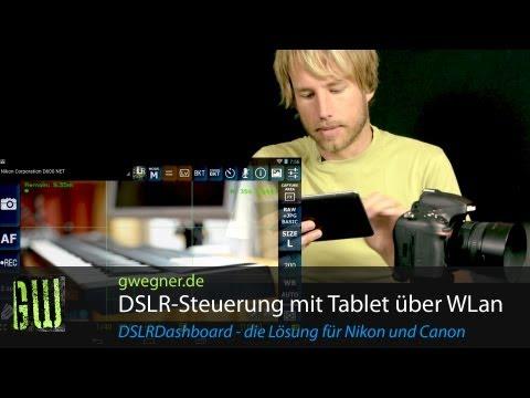 WLan Fernsteuerung für Nikon und Canon DSLR Kameras | gwegner.de