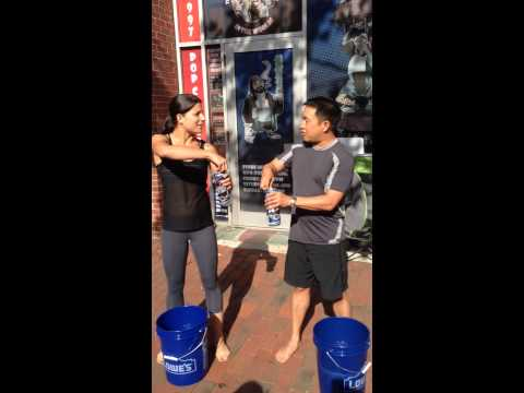 ALS Ice Bucket Challenge with Ming Chen & Samantha Quintas Sam & Ming Show