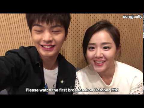 [ENG SUB] 151006 Sungjae & Moon Geunyoung Video Letter
