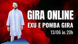 GIRA ONLINE DE UMBANDA EXU E POMBA GIRA | PAI ADERITO SIMOES UMBANDA