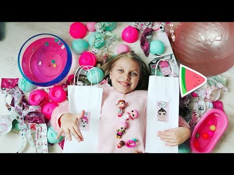 видео: ЛОЛ! КУКЛА-СЮРПРИЗ !  💖    lol dolls surprise