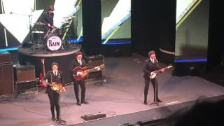 Rain the Beatles tribute band I Want to Hold Your Hand