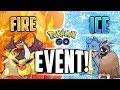 Pokemon Go - FIRE & ICE EVENT! (Lapras, Charizard + MORE!)