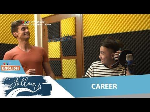 """VTV7   Follow us   Career   Cùng """"đột nhập"""" vào studio xem Tiến Việt thu âm nào!"""