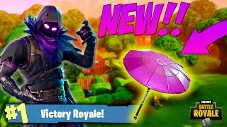 SECRET PINK UMBRELLA!! *LEAKED* in Fortnite: Battle Royale