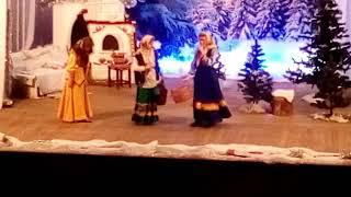 Новогоднее представление по мотивам сказки