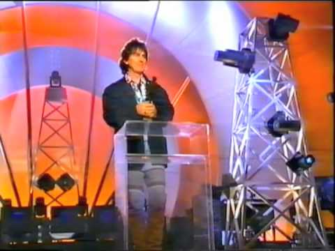 George Harrison receives Billboard Century Award 1992