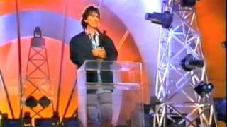 George Harrison receives Billboard Century Award 1992