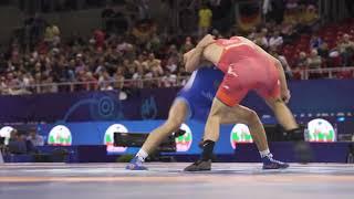 Chakaev takes out King Vlad, 10-0! - World Championships 2018 - Day  2