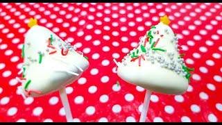 7. Christmas Tree Cake pops | Christmas special