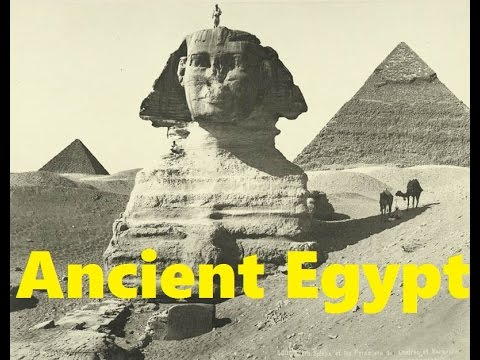 Rare Vintage Photographs of Ancient Egypt *HD*