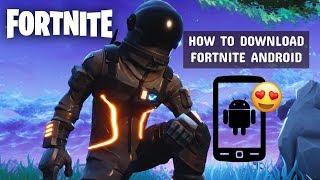 Meilleur tutoriel pour télécharger Fortnite Game sur ANDROID (fr) Comment obtenir un lien, APK