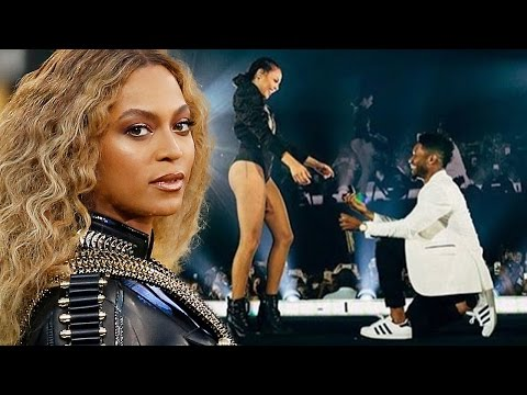 Thumbnail: Beyonce Interrupts Concert To Help With EPIC Proposal For Her Dancer
