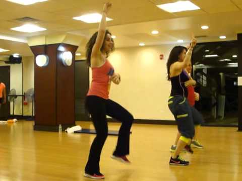 Roxy Fitness - BE MY BABY by Leslie Grace ZUMBA BACHATA
