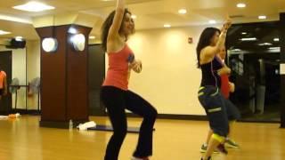 Roxy Fitness - BE MY BABY by Leslie Grace ZUMBA BACHATA