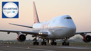 EARLIER LIVE STREAM: CORENDON BOEING 747-400 ARRIVAL AT SCHIPHOL AIRPORT