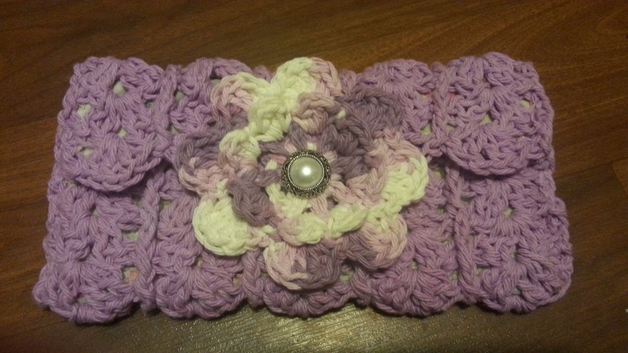 How To Crochet A Clutch Purse Bagoday Crochet Tutorial