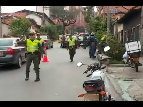 La Policía allanó tres casas de estudiantes en Medellín previo al paro nacional