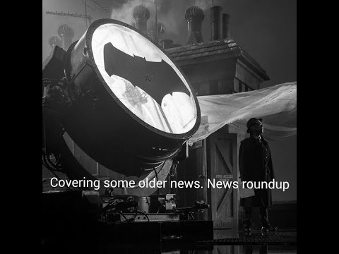 Covering some older news. News roundup
