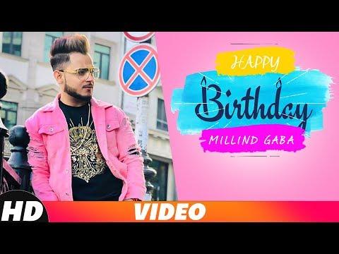 Birthday Wish | Millind Gaba | Birthday Special | Latest Punjabi Song 2018 | Speed Records