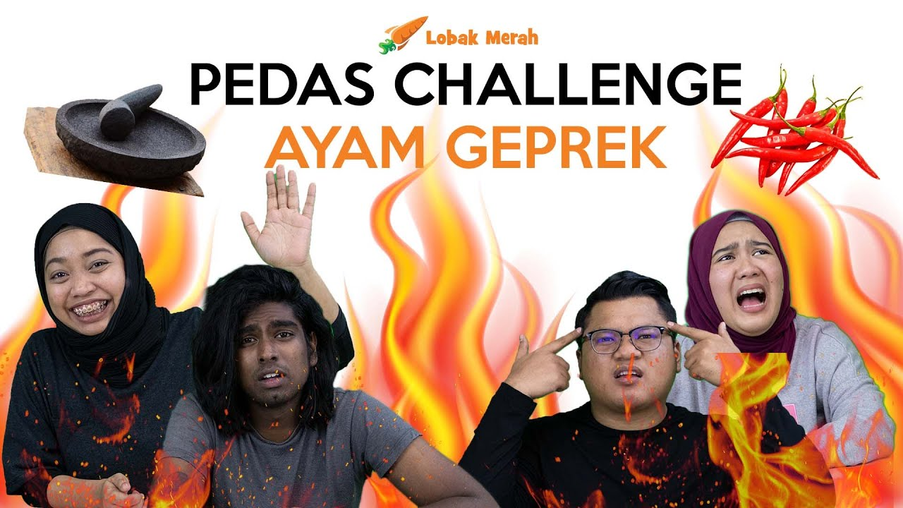 Pedas Challenge: Ayam Geprek