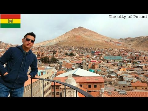 Travel to South America: The City of Potosi in Bolivia - Cerro Rico Mountain