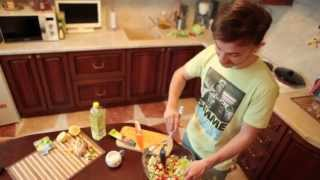 Быстра и вкусная еда - Квантовая перезагрузка. Салат из двух груш.