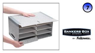 Bankers Box® System Blue Desktop Sorter - Assembly Demo
