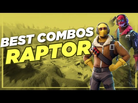 Best Chapter 2 Combos | Raptor | Fortnite Skin Review