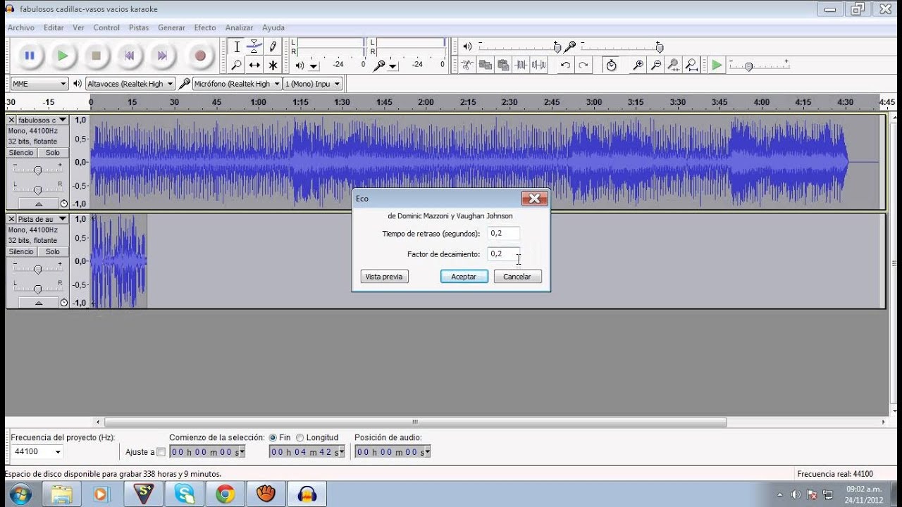 how to add metronome in audacity