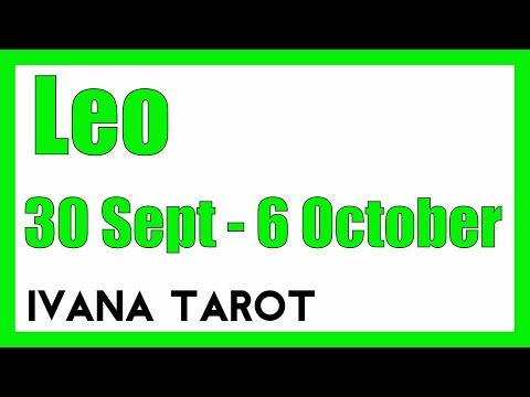 leo weekly 30 to 5 tarot video