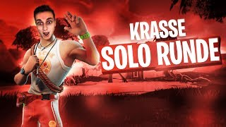 KRASSE SOLO RUNDE in Fortnite Battle Royale | Pain