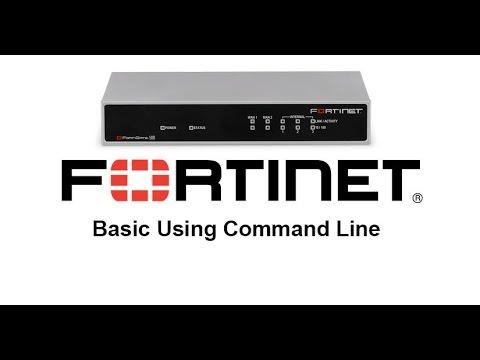 Firewall Fortigate Basic CLI (Command Line)