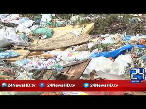 24 Report:  Paposh Nagar graveyard situation becomes worst by the passage of Time