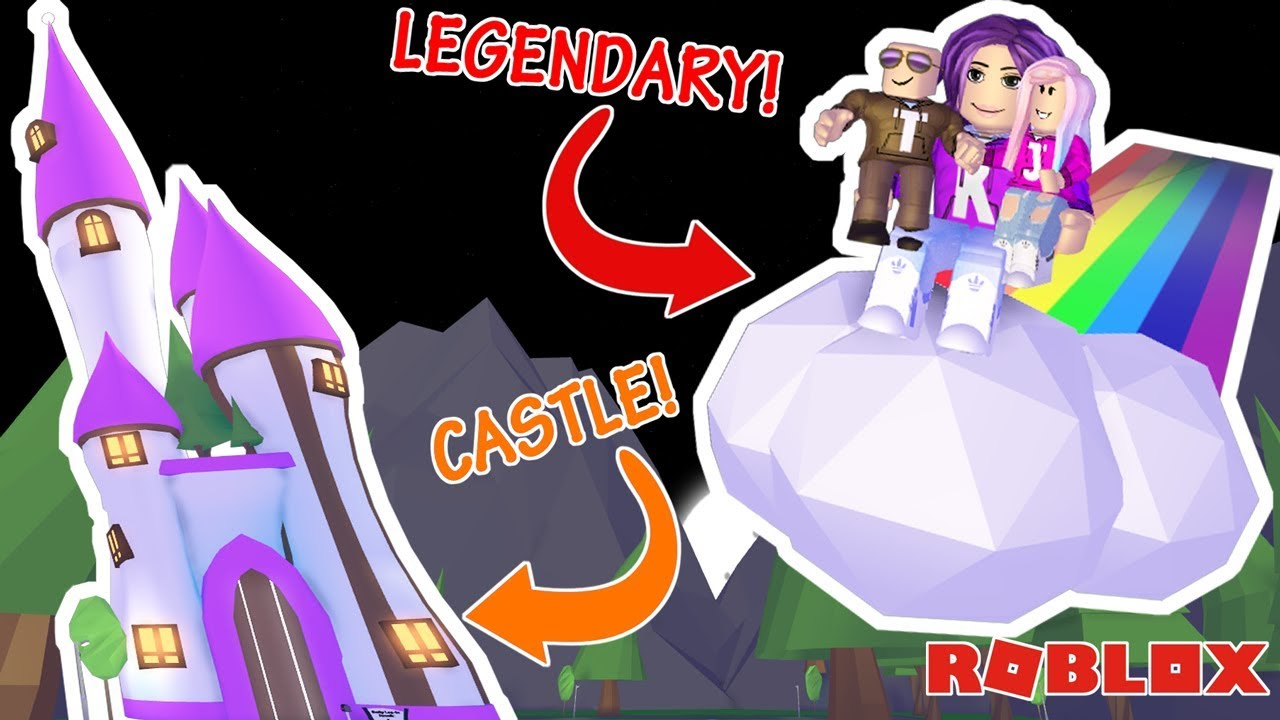 NEW LEGENDARY ITEM! & THE RULER'S CASTLE! / Roblox: Adopt Me