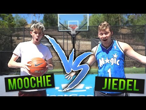 EPIC 1v1 BASKETBALL vs MOOCHIE for SNEAKERS!