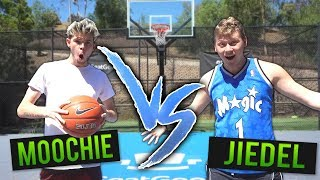EPIC 1v1 BASKETBALL vs MOOCHIE for SNEAKERS!