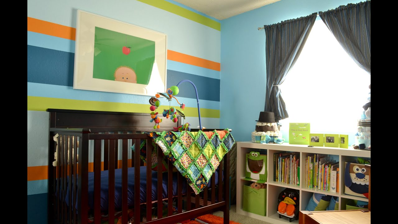 Best Baby Boy Room Color Ideas - YouTube