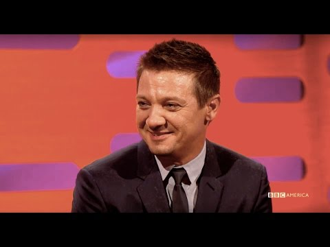 Jeremy Renner's Face Frightens Children - The Graham Norton Show