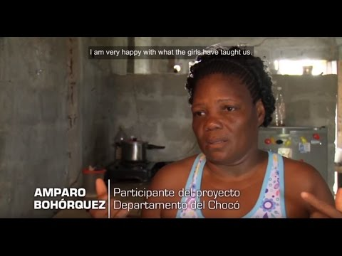 Helping improve living conditions for people in need in Colombia