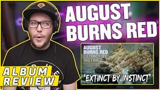"AUGUST BURNS RED - ""Extinct by Instinct"" Guardians (REACTION/ ALBUM REVIEW)"