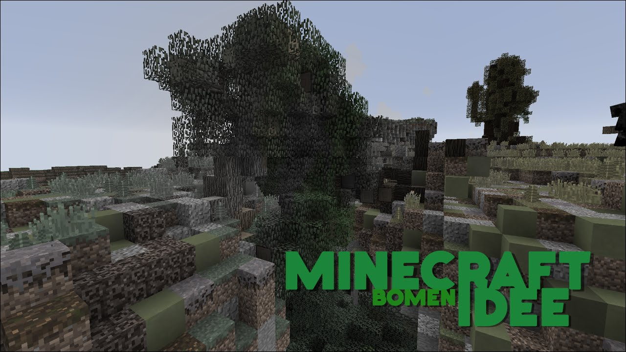 Minecraft Idee - Bomen - YouTube
