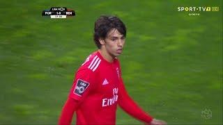 João Félix Scores Against Porto • 2018/19