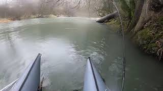 Pontoon Winter Steelhead Fishing Oregon