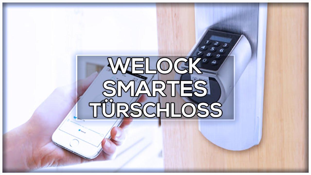 REVIEW: WeLock Smartes Türschloss + GEWINNSPIEL 🎁