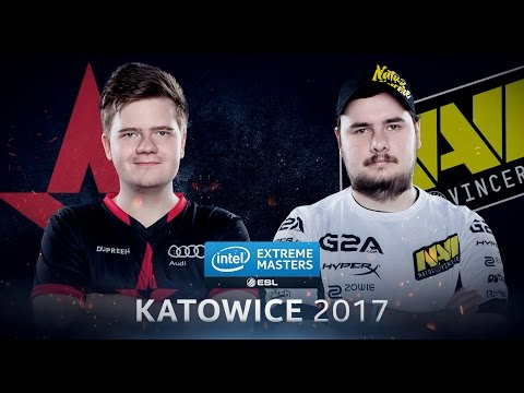 CS:GO - Astralis Vs. Na'Vi [Nuke] Map 2 - Quarterfinal - IEM Katowice 2017